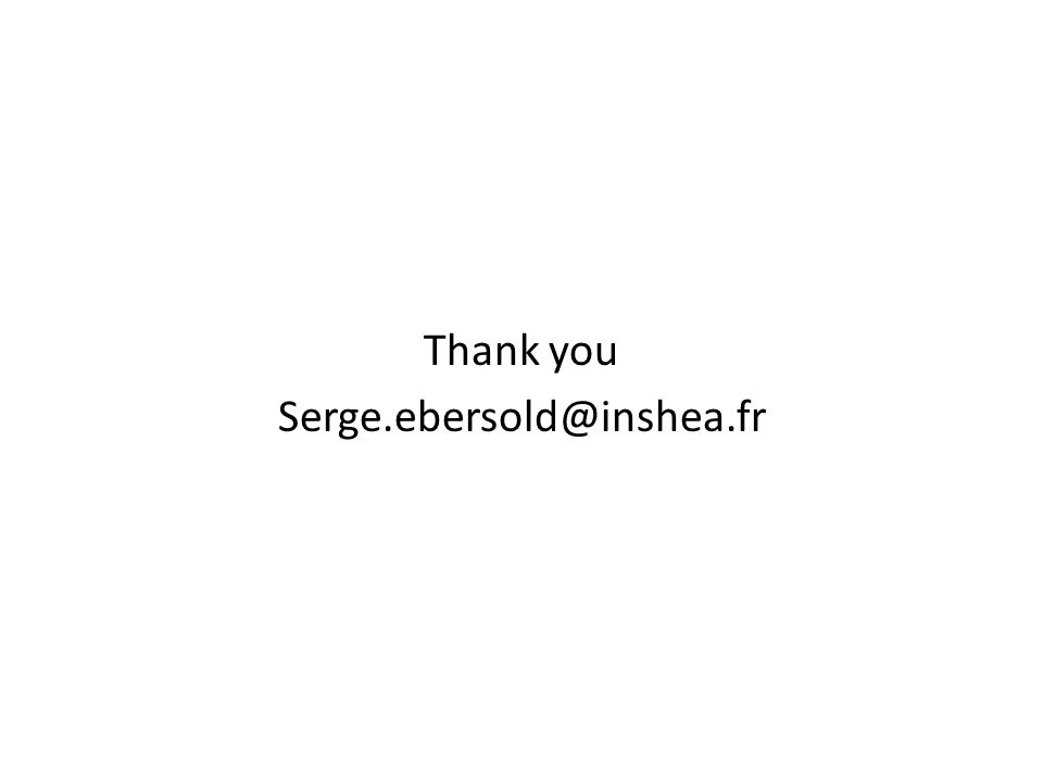 Thank you Serge.ebersold@inshea.fr