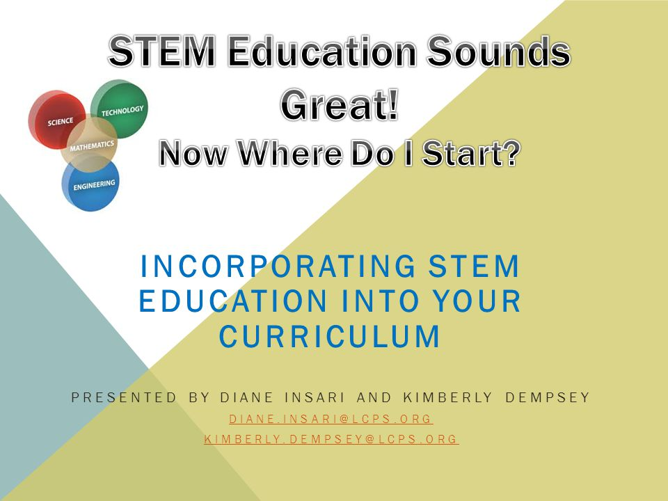 STEM Education Sounds Great! Now Where Do I Start