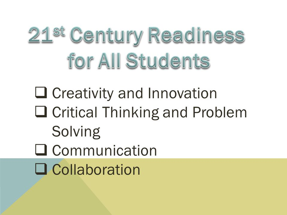 21st Century Readiness for All Students