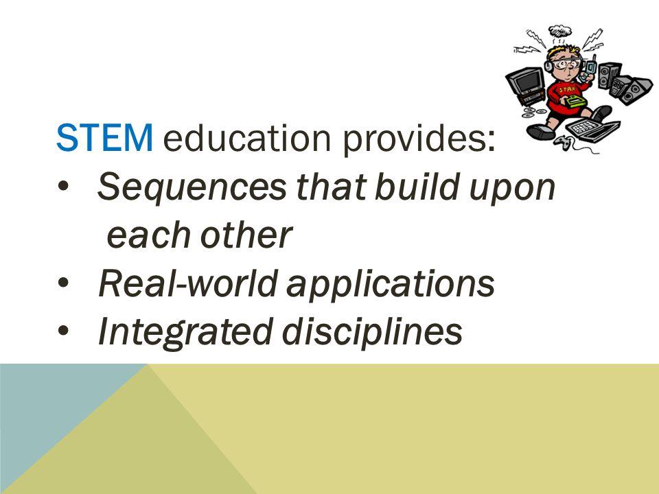 STEM education provides: