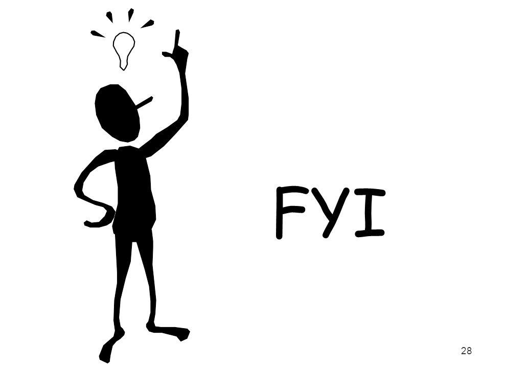 FYI Transition slide…