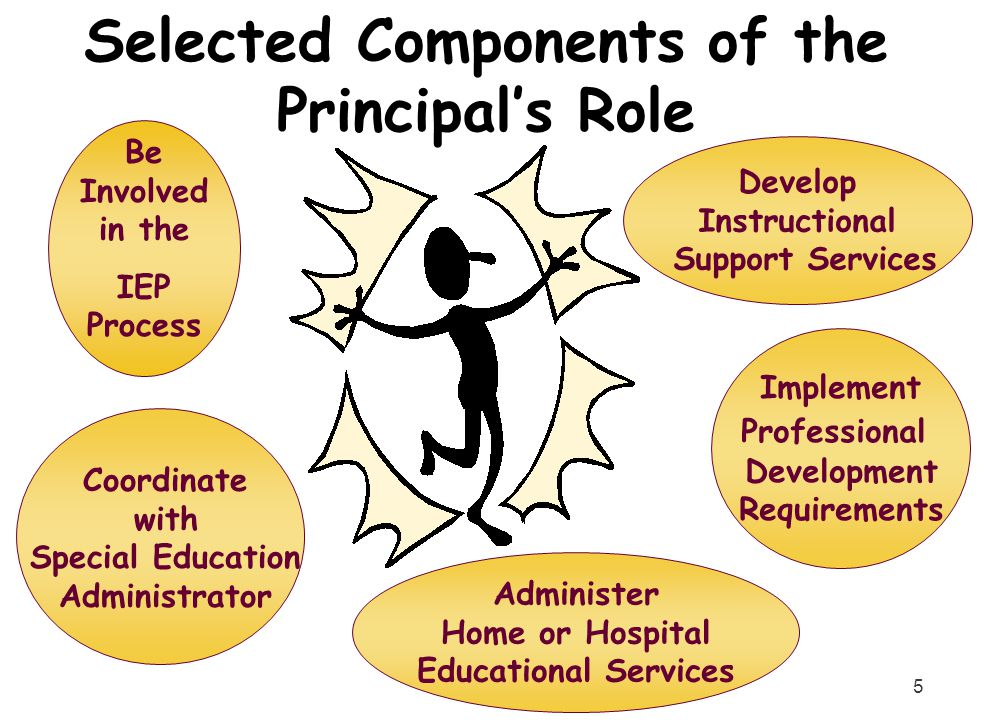 Selected Components of the Principal's Role
