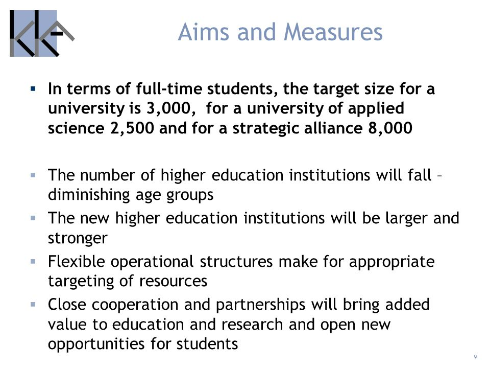 Aims and Measures