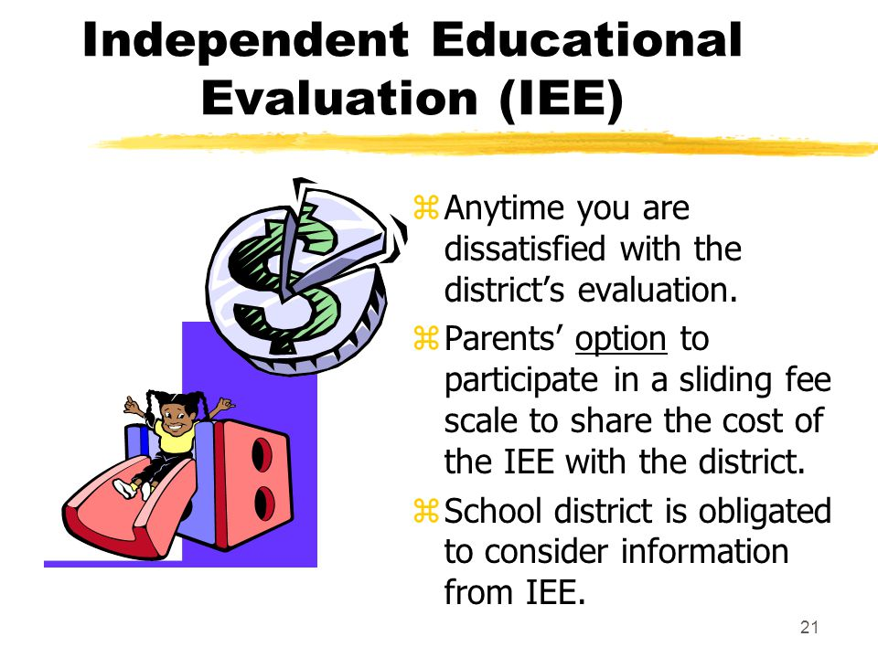 Independent Educational Evaluation (IEE)