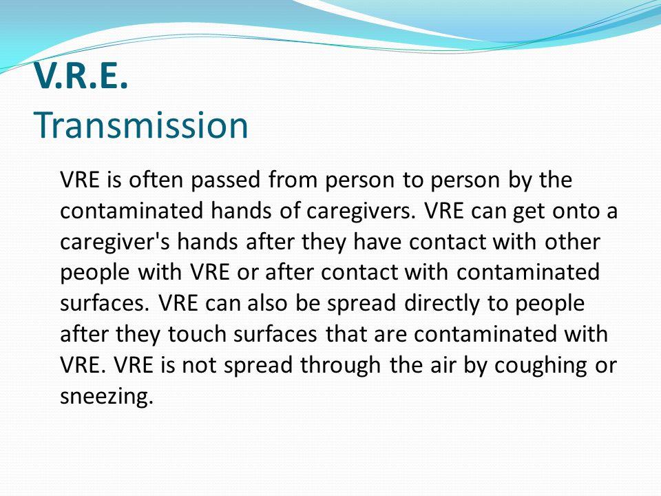 V.R.E. Transmission