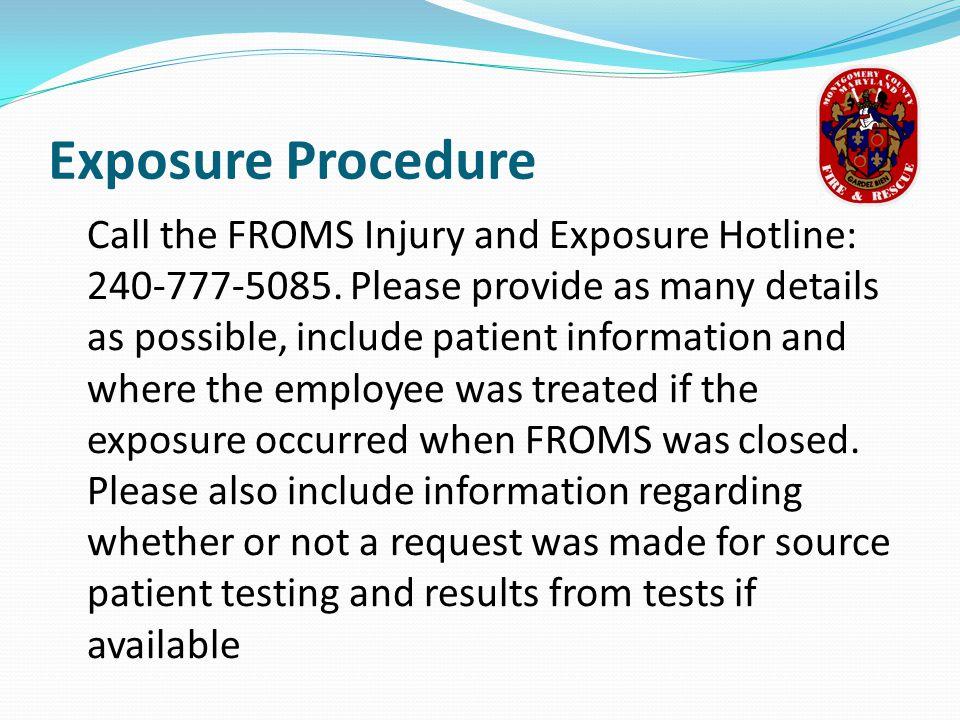 Exposure Procedure