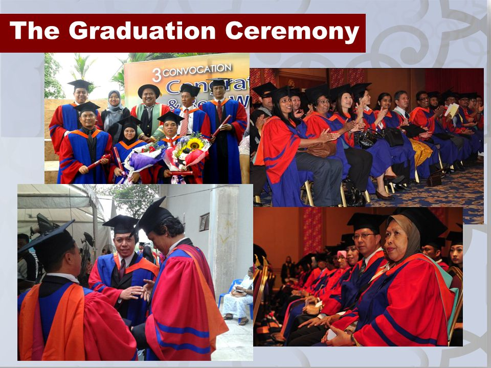 The Graduation Ceremony