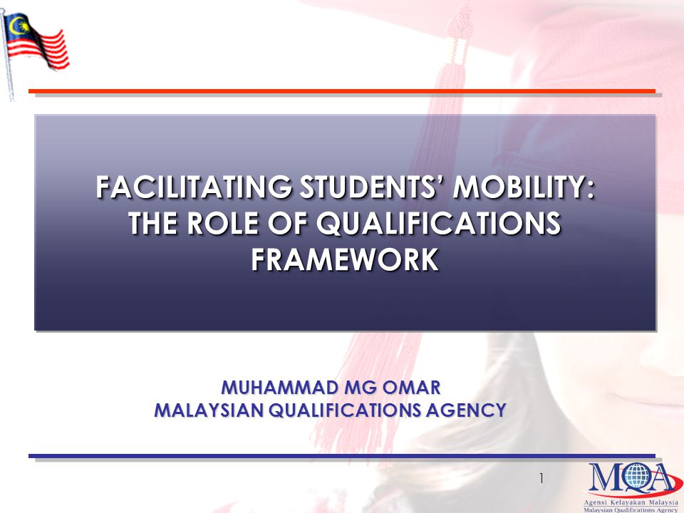 FACILITATING STUDENTS' MOBILITY: THE ROLE OF QUALIFICATIONS FRAMEWORK