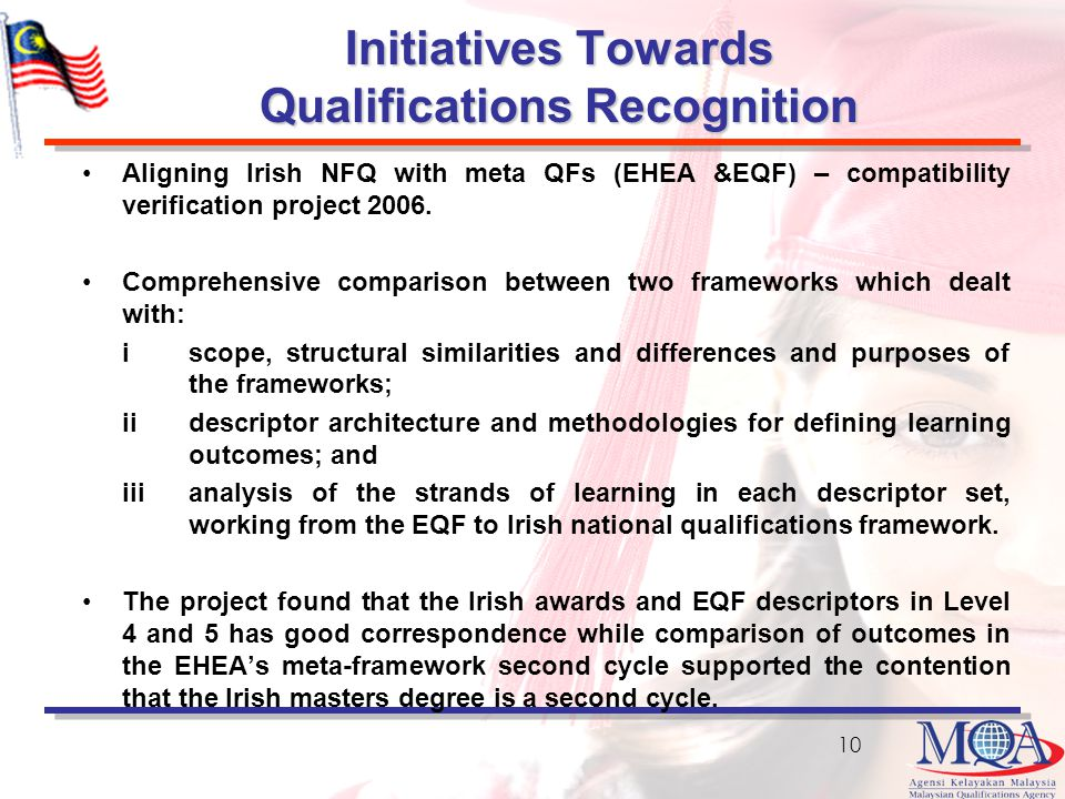 Initiatives Towards Qualifications Recognition