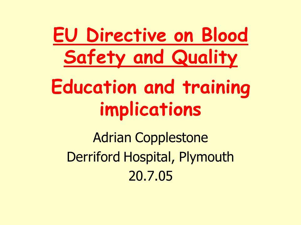 Adrian Copplestone Derriford Hospital, Plymouth 20.7.05