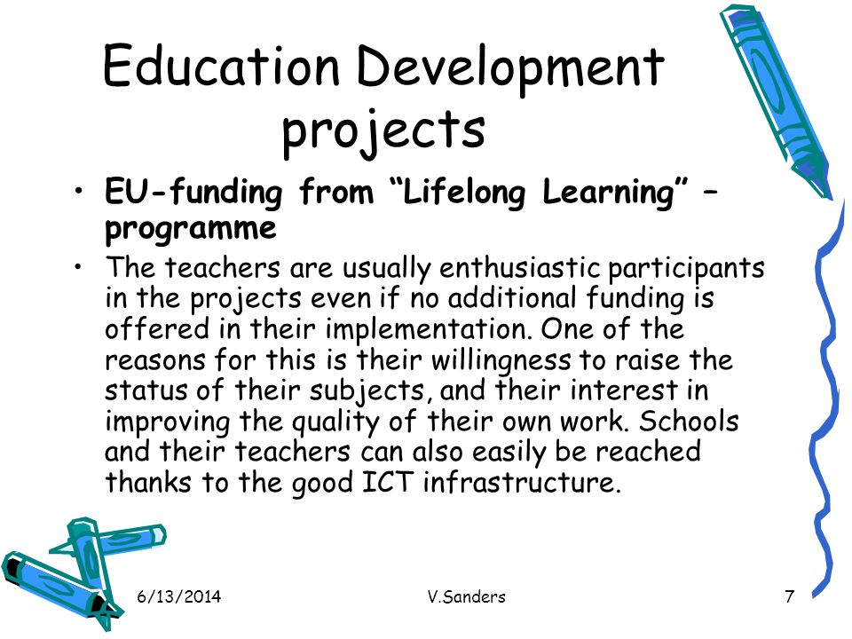 Education Development projects