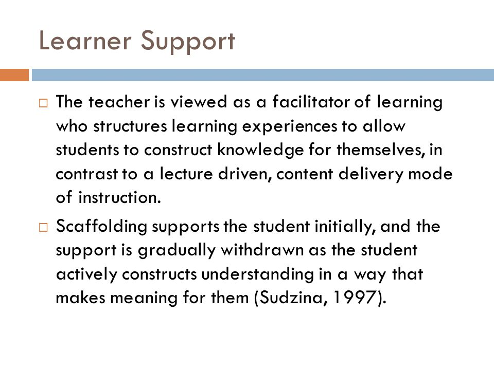 Learner Support