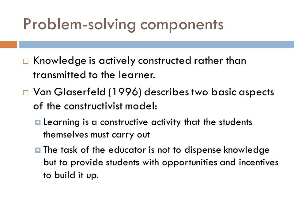 Problem-solving components
