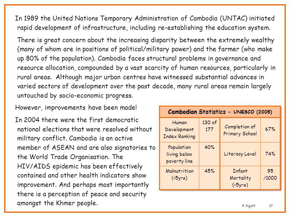 Cambodian Statistics - UNESCO (2005)