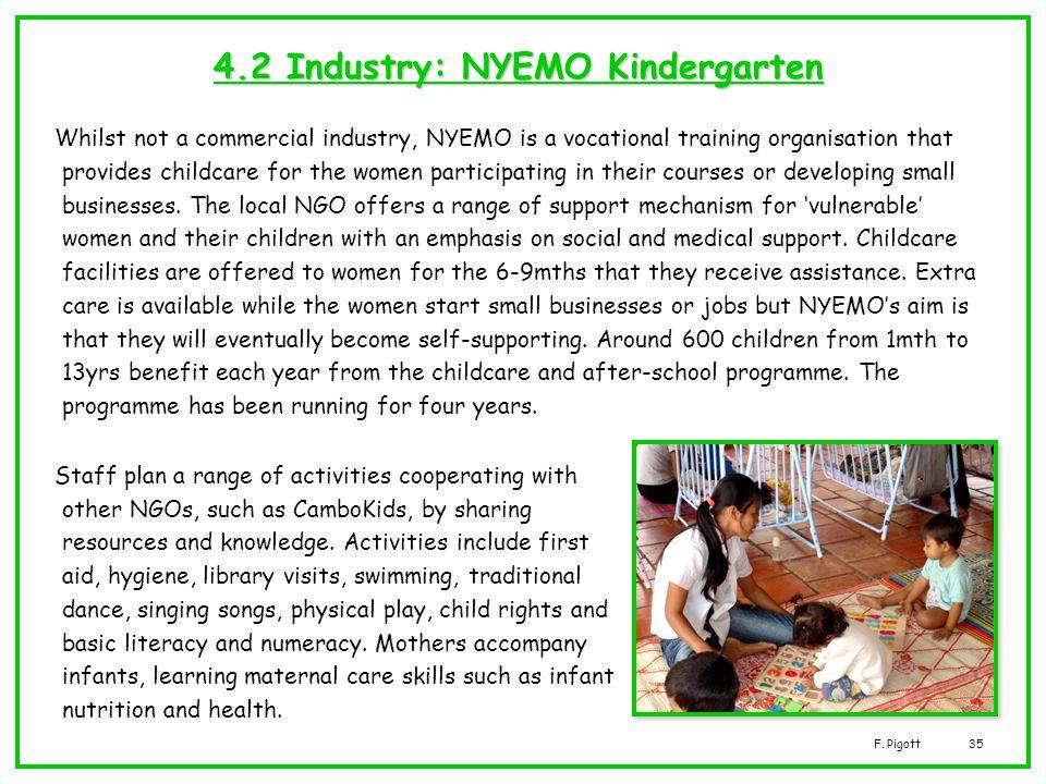 4.2 Industry: NYEMO Kindergarten