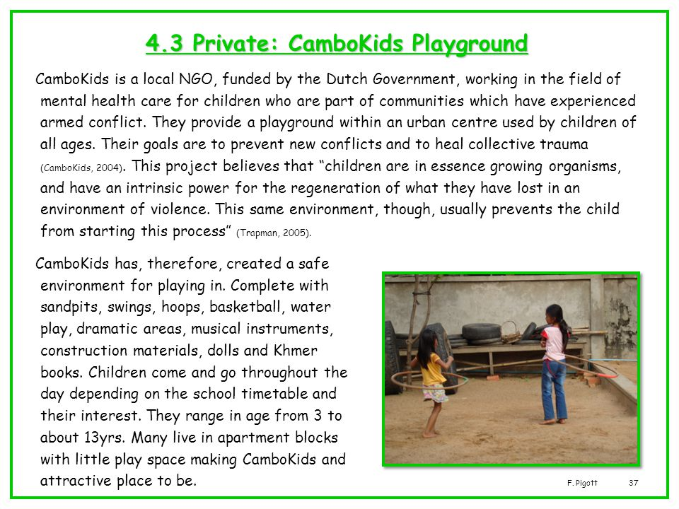 4.3 Private: CamboKids Playground