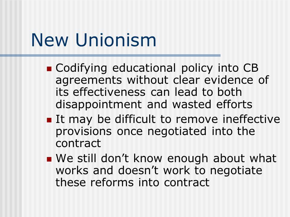 New Unionism