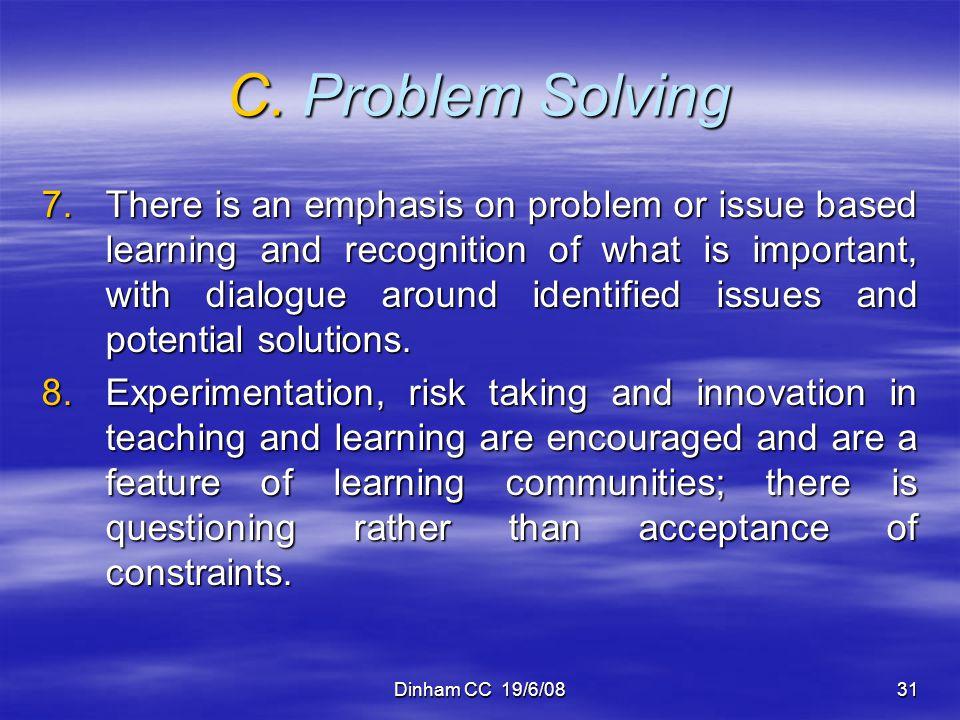 C. Problem Solving