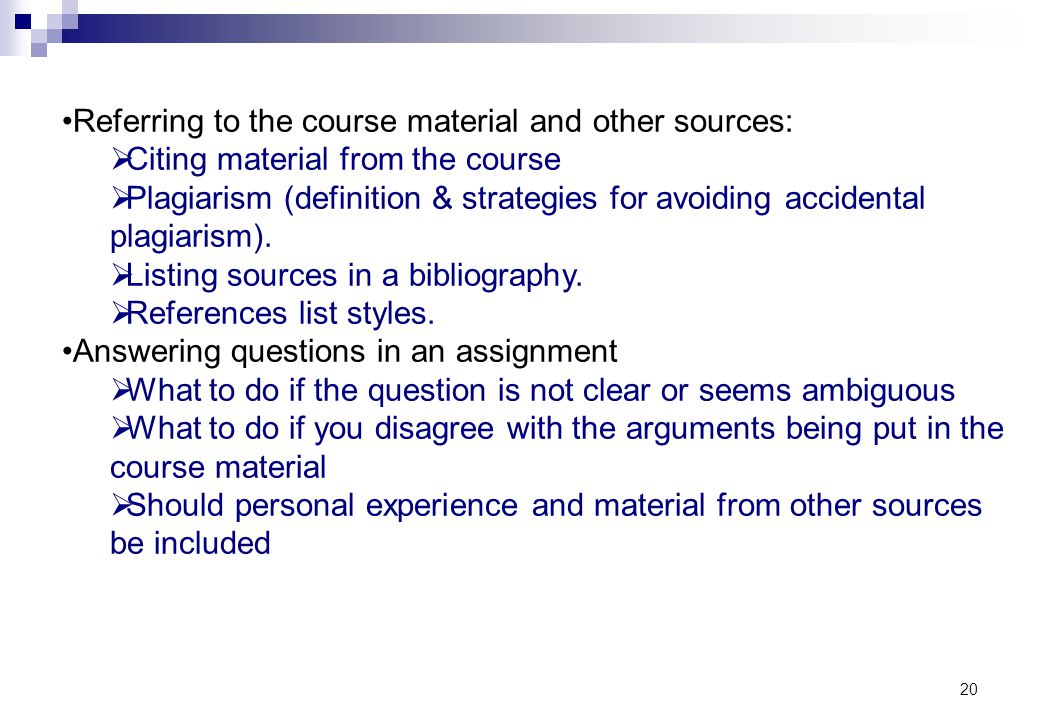 Referring to the course material and other sources: