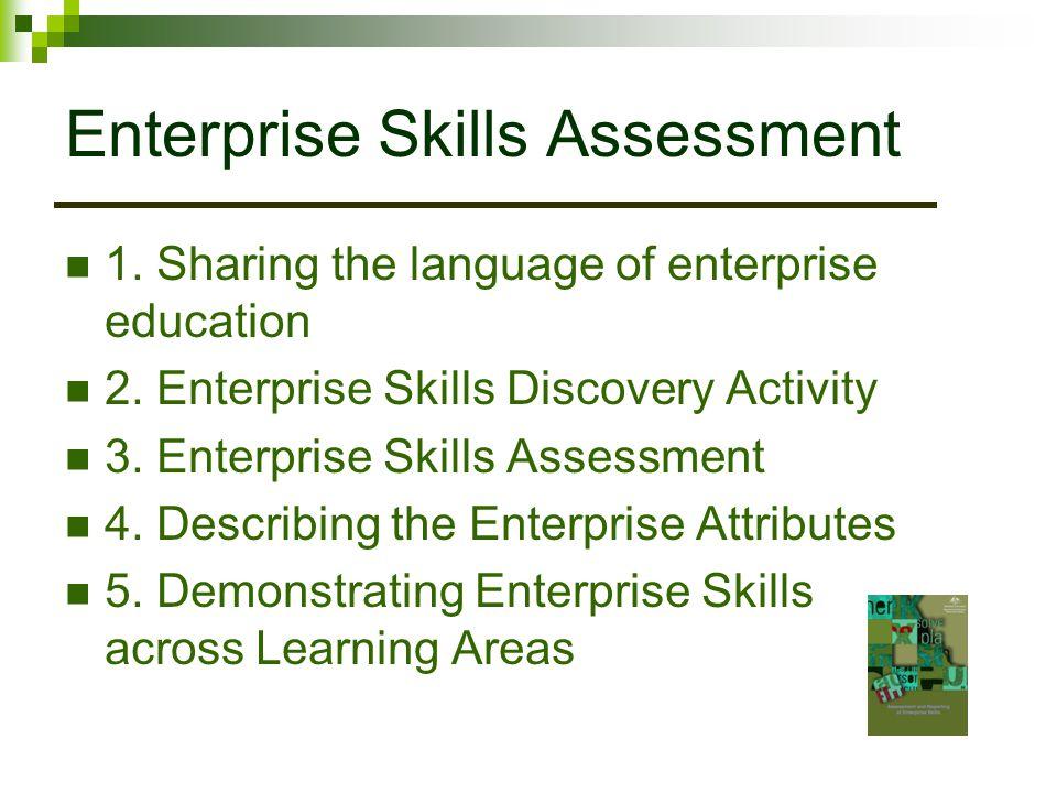 Enterprise Skills Assessment