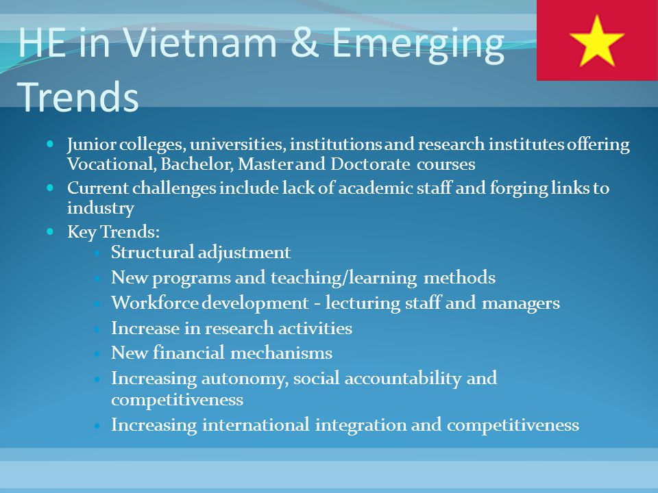 HE in Vietnam & Emerging Trends