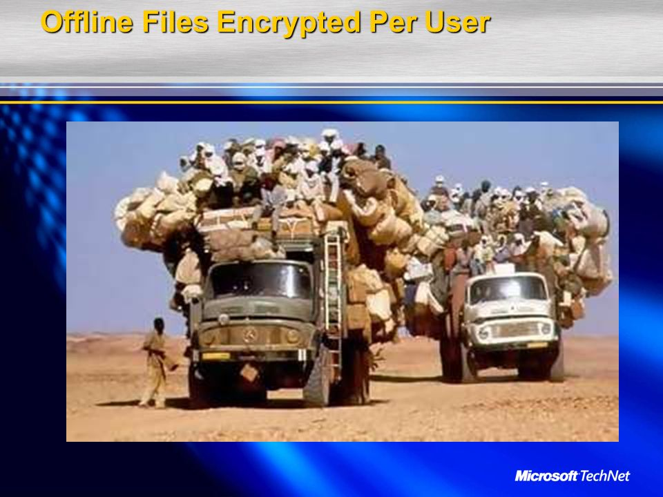 Offline Files Encrypted Per User