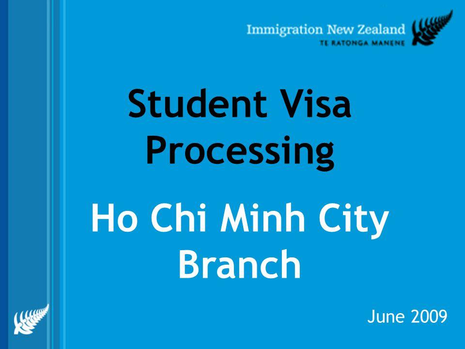 Student Visa Processing Ho Chi Minh City Branch