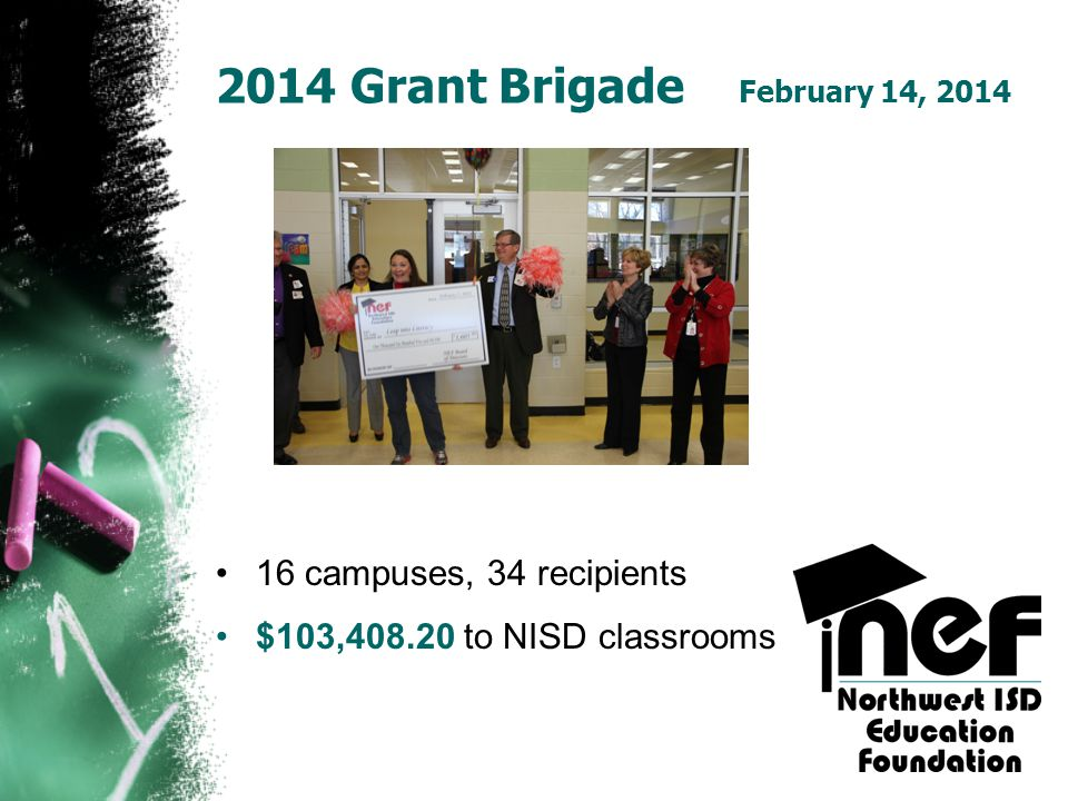 2014 Grant Brigade February 14, 2014