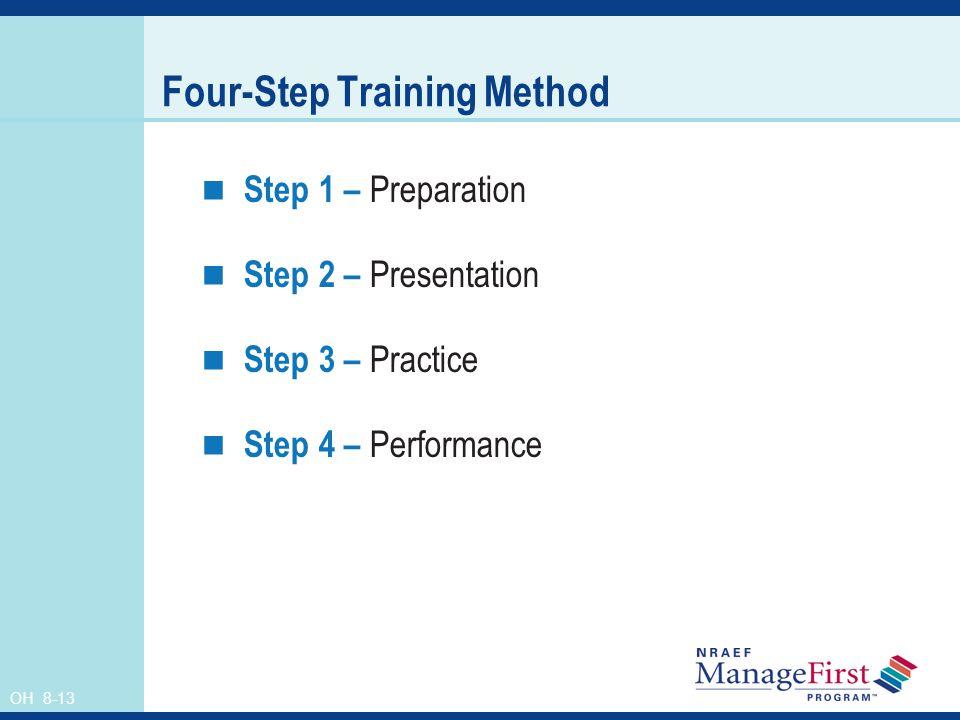 Four-Step Training Method
