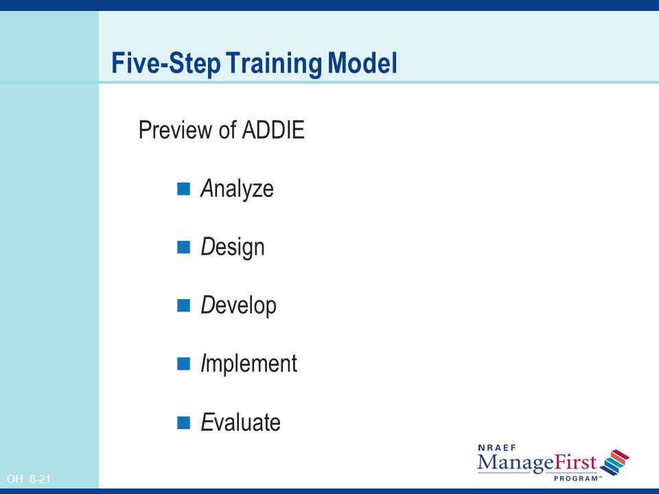 Five-Step Training Model