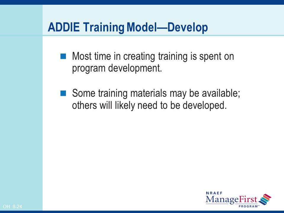 ADDIE Training Model—Develop