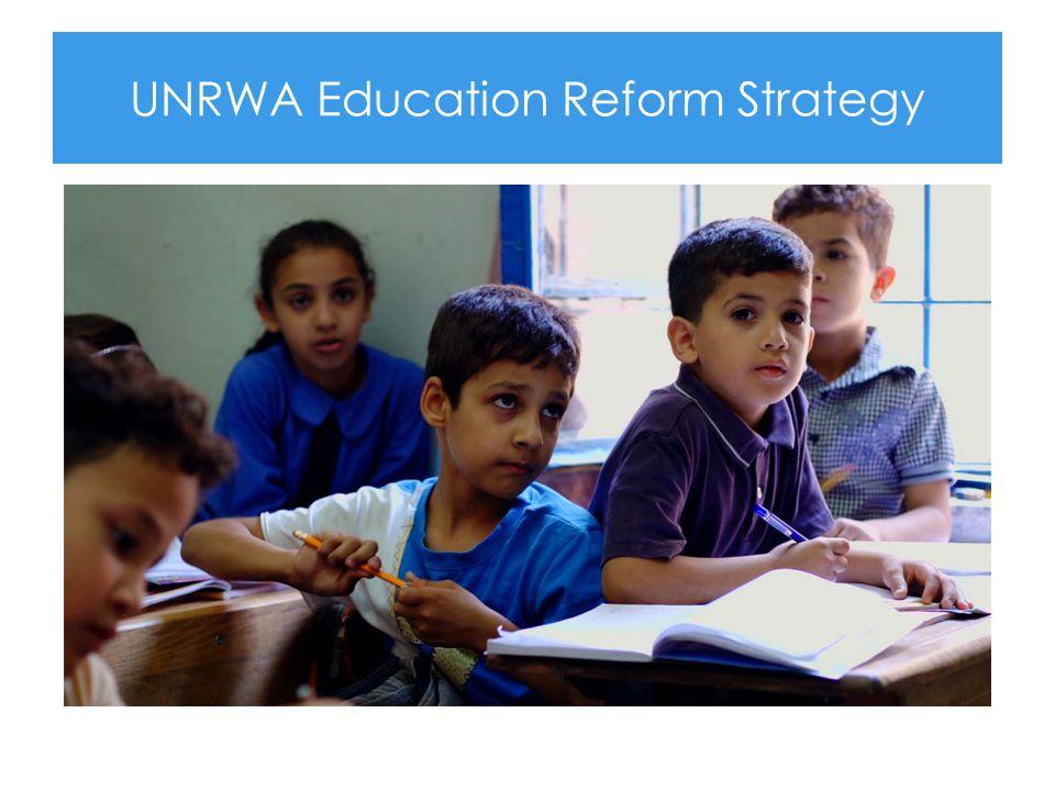 UNRWA Education Reform Strategy