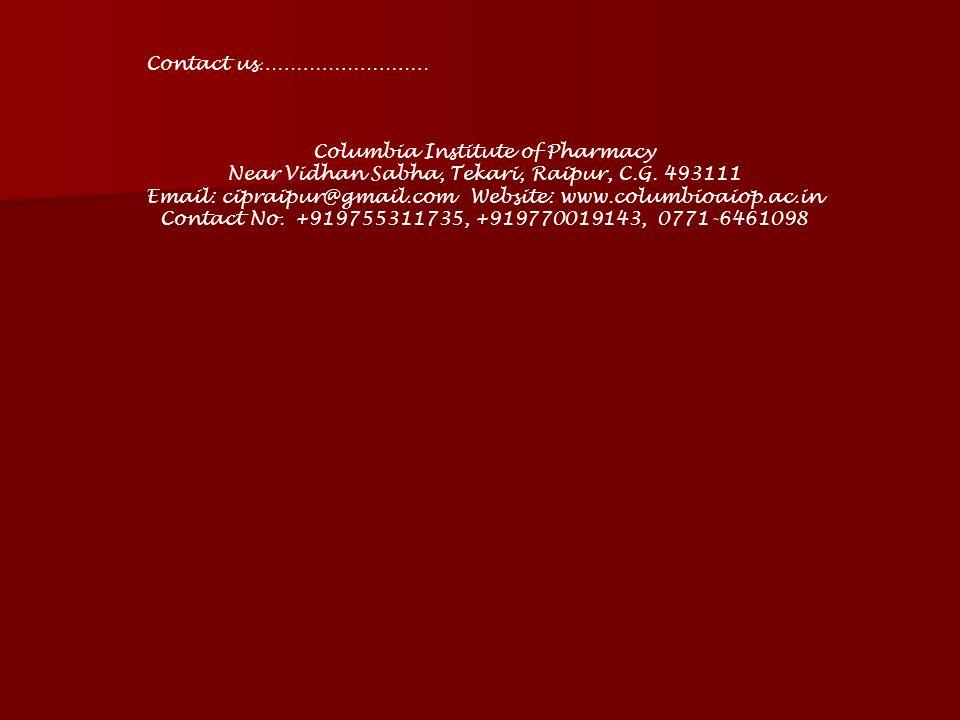Columbia Institute of Pharmacy