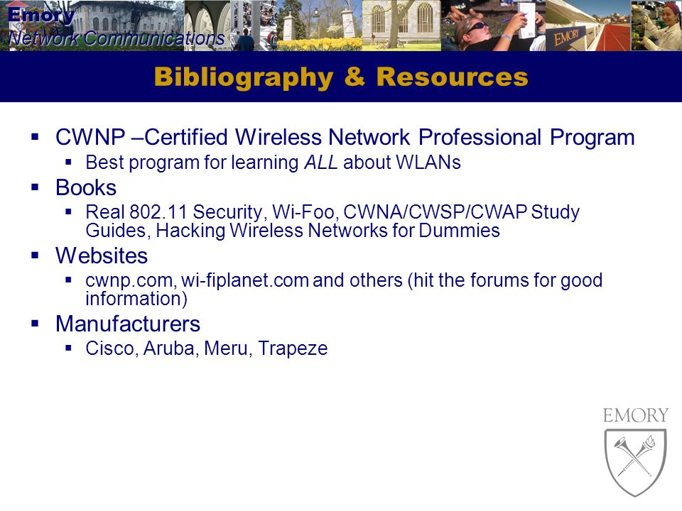 Bibliography & Resources