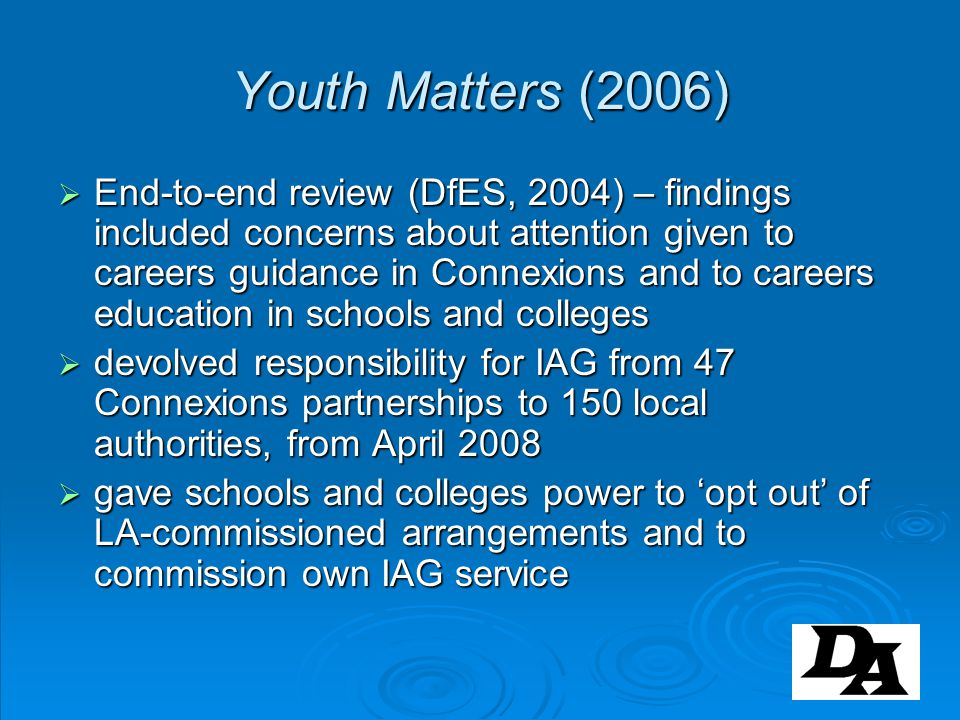Youth Matters (2006)