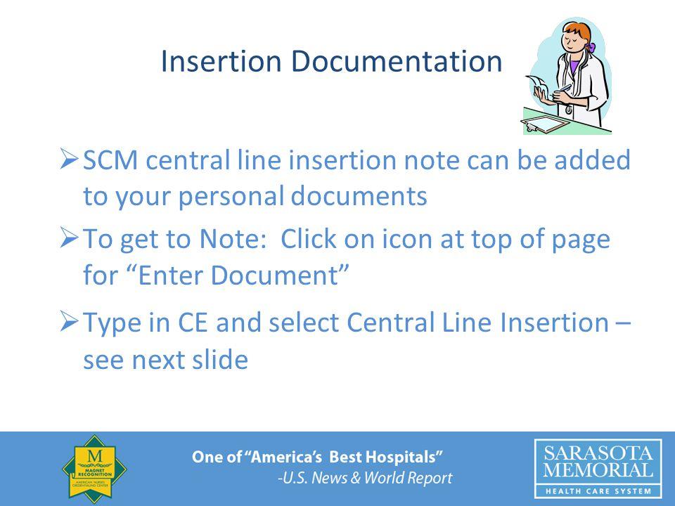 Insertion Documentation