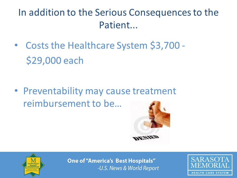 In addition to the Serious Consequences to the Patient...