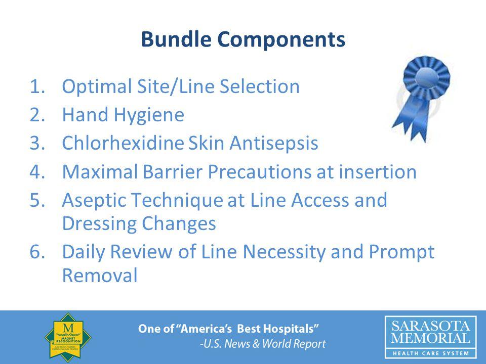 Bundle Components Optimal Site/Line Selection Hand Hygiene