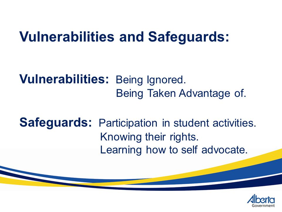 Vulnerabilities and Safeguards: