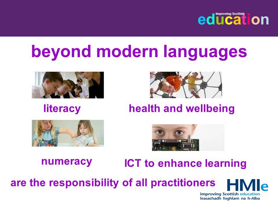 beyond modern languages