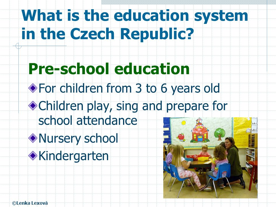What is the education system in the Czech Republic