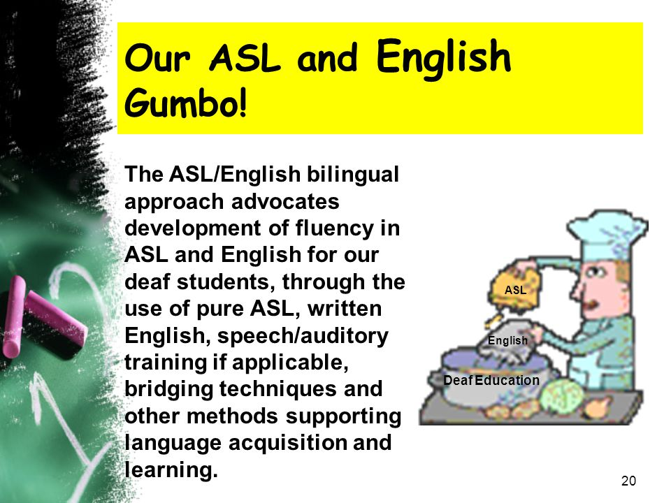 Our ASL and English Gumbo!