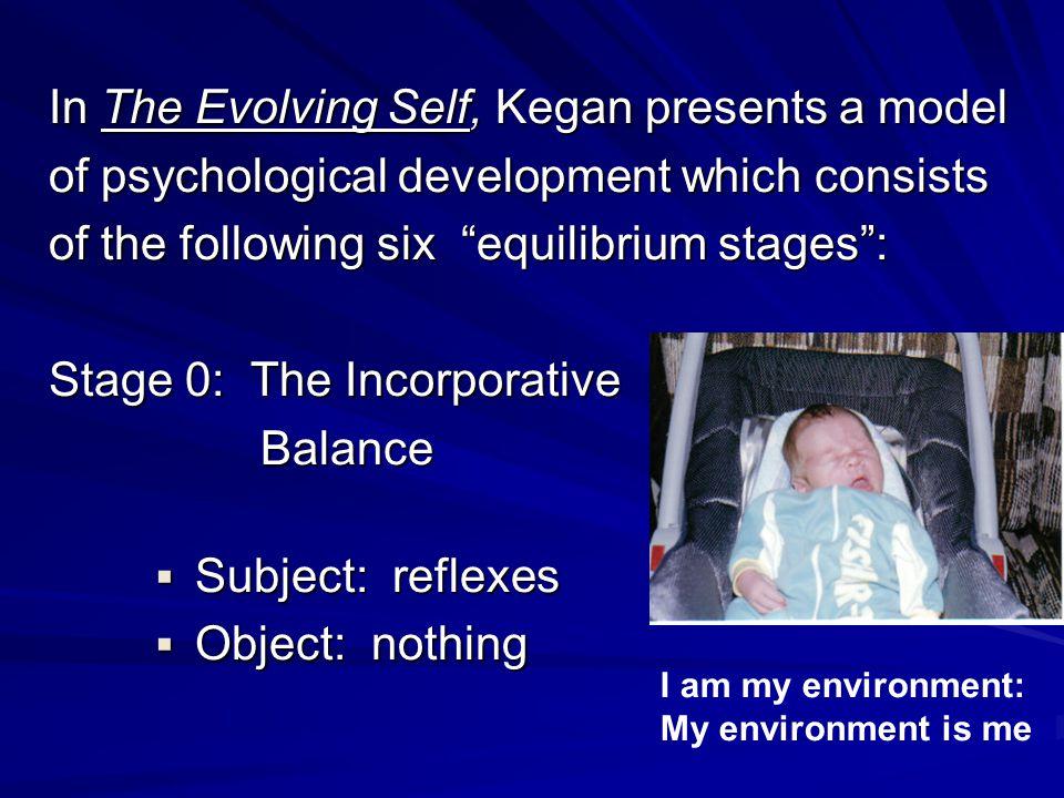 In The Evolving Self, Kegan presents a model