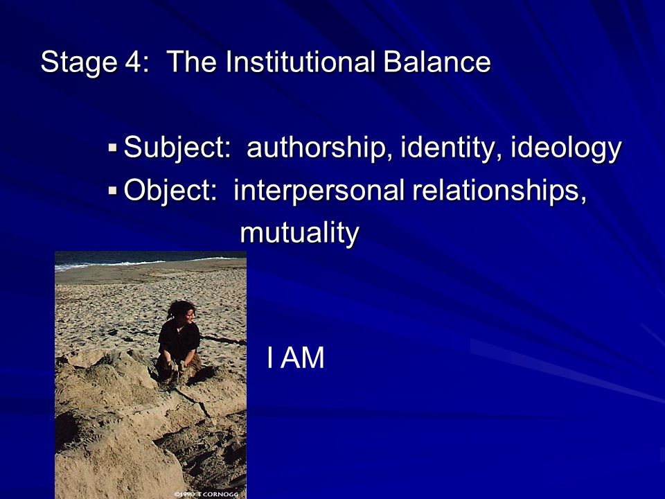 Stage 4: The Institutional Balance
