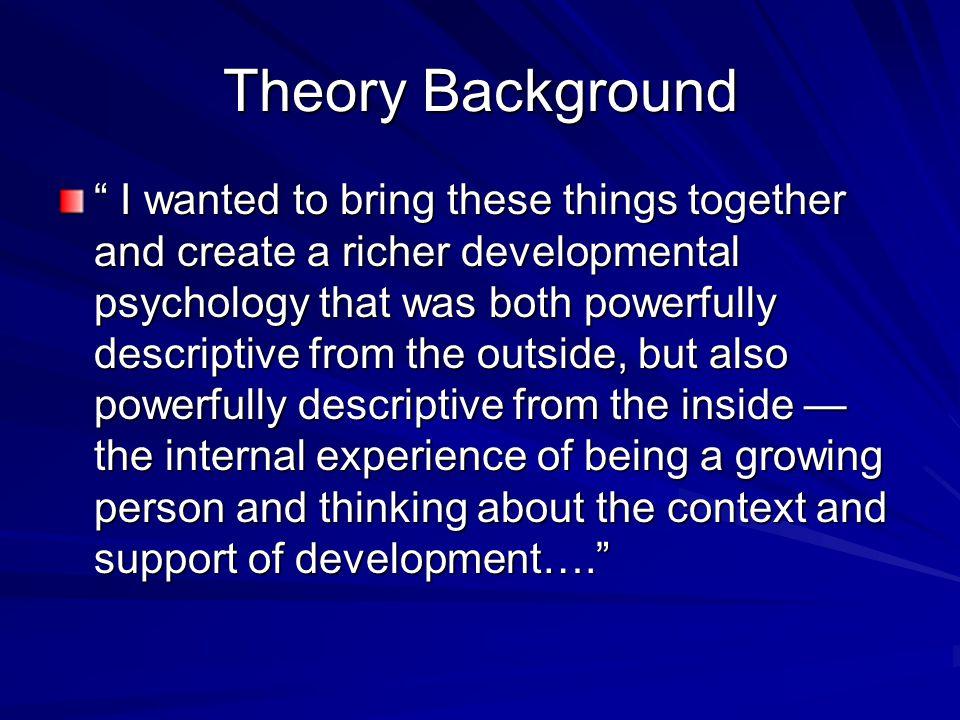 Theory Background