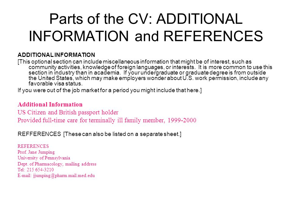 cv  resume strategies and tips