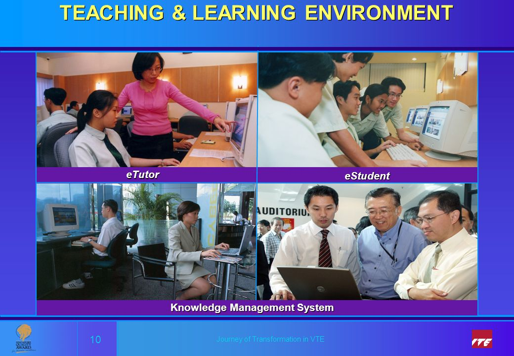 TEACHING & LEARNING ENVIRONMENT Knowledge Management System