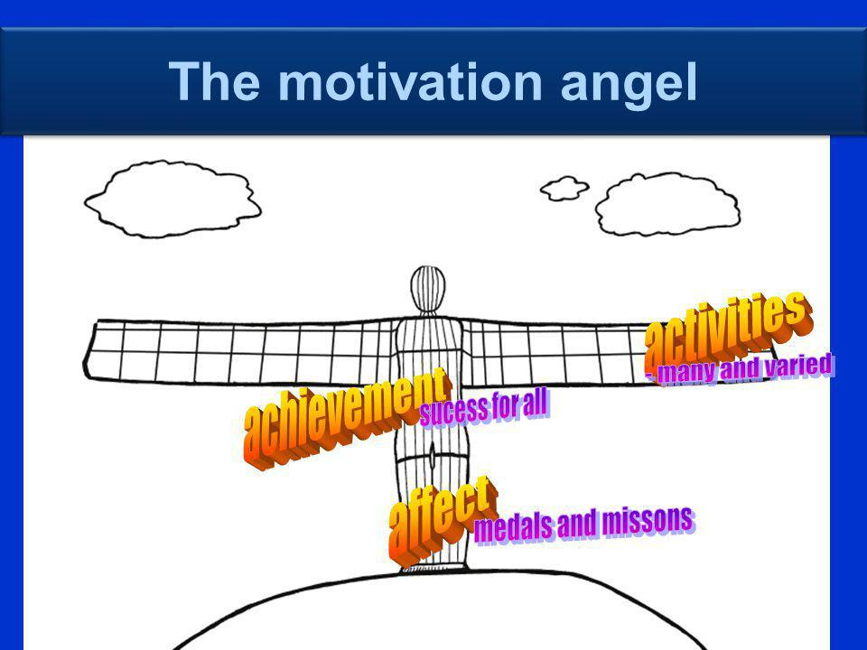 The motivation angel activities - many and varied achievement