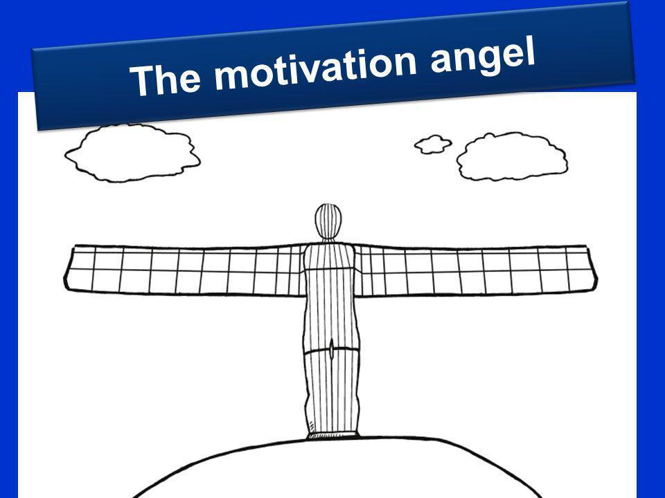 The motivation angel