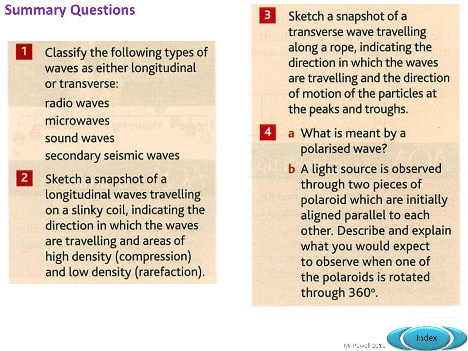 Summary Questions © John Parkinson